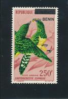 Bénin 2007 (250FOiseaux Africains) ++ Luxe  TRES RARE - Benin – Dahomey (1960-...)