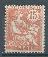 Crète YT N°7 Mouchon Neuf/charnière * - Unused Stamps