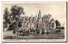 CPA La Chapelle Sur Erdre Chateau De La Gascherie Avant Sa Restauration Vers 1840 - Unclassified