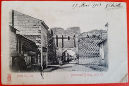 49 - MONTREUIL BELLAY - (M.&.L.) - Porte St Jean - Montreuil Bellay