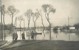 "CPA FRANCE 92 ""Rueil, La Jonchère"" / INONDATIONS 1910 - Rueil Malmaison"
