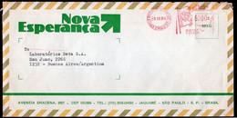 Brasil - 1986 - Lettre - Cachet Spécial - Affranchissement Mécanique - Nova Esperança - A1RR2 - Cartas