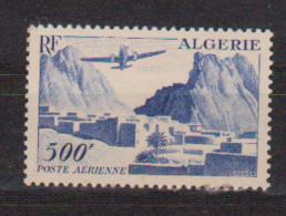 ALGERIE     N°  YVERT  : PA 12  NEUF AVEC  CHARNIERES      (  CH  02/01 ) - Poste Aérienne