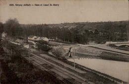 03-URCAY...GARE ET CANAL DU BERRY  ...CPA - Other Municipalities