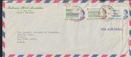 Bahmas Airmail Cover Postad Nassau 1967 From Bahamas Hotel Association - Long Cover (LAR10-47) - Hotels, Restaurants & Cafés