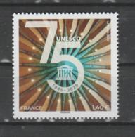 FRANCE / 2020 / Y&T SERVICE N° 179 ** : UNESCO (75ème Anniversaire) X 1 - Mint/Hinged