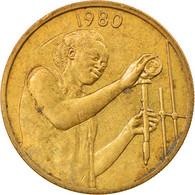 Monnaie, West African States, 25 Francs, 1980, TTB+, Aluminum-Bronze, KM:9 - Ivory Coast