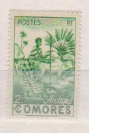COMORES             N° YVERT  4   NEUF SANS CHARNIERES  (NSCH 02/02 ) - Unused Stamps