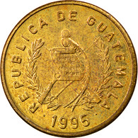 Monnaie, Guatemala, Centavo, Un, 1995, TTB, Laiton, KM:275.5 - Guatemala