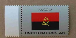 Ny86-01 : Nations-Unies (N-Y) / Drapeau Des Etats Membres De L'ONU - Angola - Neufs