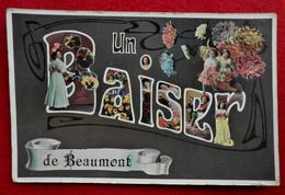 CPA Fantaisie 1909 Un Baiser De Beaumont - Beaumont