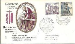 MATASELLOS 1965  BARCELONA - 1961-70 Cartas