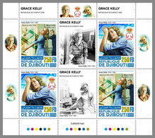 DJIBOUTI 2020 MNH Grace Kelly Cinema Kino Film M/S II - OFFICIAL ISSUE - DHQ2106 - Berühmt Frauen