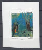Odilon Redon, Bouddha, AUTO ADHESIF N° 551,  2011  Neuf **   Grande Marge - Adhesive Stamps