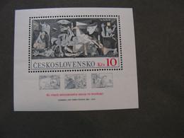 CSR Klbg . 1981  Bl. 45  ** MNH Picasso  €  4,00 - Blocks & Sheetlets