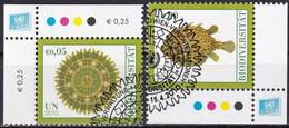 UNO WIEN 2010 Mi-Nr. 643/44 O Used - Aus Abo - Gebraucht