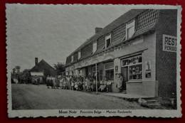 CP Mont-Noir Heuvelland Frontière Belge - Café Restaurant Pension De Famille Reubrecht - Heuvelland