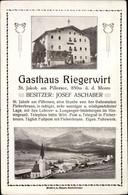 CPA Sankt Jakob In Haus Am Pillersee Tirol, Gasthaus Riegerwirt, Blick Auf Den Ort - Other