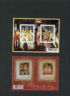 France - Bloc Renoir F4406 + Botticelli F4518 - Neufs** - Ongebruikt