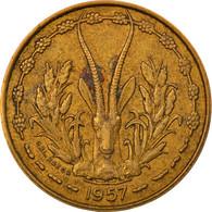 Monnaie, French West Africa, 10 Francs, 1957, TTB, Aluminum-Bronze, KM:8 - Togo