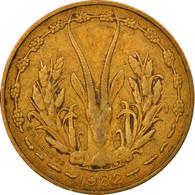 Monnaie, West African States, 5 Francs, 1982, TTB, Aluminum-Nickel-Bronze, KM:2a - Ivory Coast