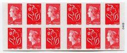 RC 12829 FRANCE CARNET N° 1515 LAMOUCHE + MARIANNE DE CHEFFER COMPOSITION VARIABLE NEUF ** TB - Definitives