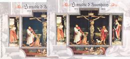 France 4675/4677 Variété Cadre Rose Et Cadre Gris Retable D'issenheim Neuf ** TB MNH Sin Charnela - Variétés: 2010-.. Neufs