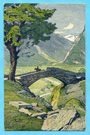 Pro Juventutekarte Nr. 33 - Ponte Nel Ticino Settentrionale Gestempelt Dragoner-Schwadron 7 - Covers & Documents