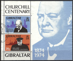 Gibraltar 1974. Mi. Block 1, Used O - Gibraltar