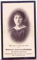 Mme Julien CURVERS Née Eulodie SCOVILLE  EMBOURG 1922 - Obituary Notices