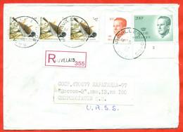 Belgium 1992. Registered Envelope Of Past Mail. - Lettres & Documents
