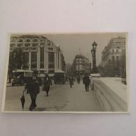 France (Paris)  Orginal Photo Petit  Ca 11.5 X 7.5 Cm Pont Neuf (Autobus) 19?? - Places