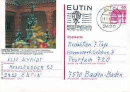 84537) BRD - P 138 R2/25 - 2190 ⨀ 6350 Bad Nauheim, Schmuckhof In Einem Badehaus - Postales Ilustrados - Usados