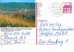 84543) BRD - P 138 R2/27 - 5300 ⨀ 7412 Eningen, Ortsansicht - Postales Ilustrados - Usados
