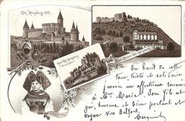 - 68  -  HAUT- KÖNISBURG  -  Carte Incunable Circulée En 1893  -  Rare  ' 2 Scans ' - Non Classés
