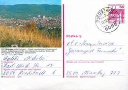 84545) BRD - P 138 R2/27 - 6086 ⨀ 7412 Eningen, Ortsansicht - Postales Ilustrados - Usados