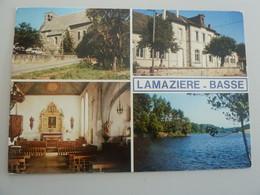 LAMAZIERE-BASSE - Multi-vues - Editions Pierre Artaud - Année 1988 - - Other Municipalities