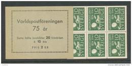 SUEDE 1949 - CARNET  YT C352a - Facit H90 -Neuf ** MNH - UPU - 1904-50