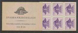 SUEDE 1945 - CARNET  YT C317a - Facit H75 -Neuf ** MNH - Caisse D'épargne De Göteborg - 1904-50