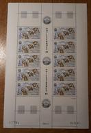 TAAF Feuilles Entières Avec Coin Datés 1981-1982 PA71 - Neufs