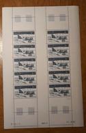 TAAF Feuilles Entières Avec Coin Datés 1982-1983 PA74 - Unused Stamps