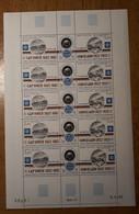 TAAF Feuilles Entières Avec Coin Datés 1982-1983 PA77 - Neufs