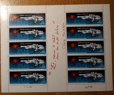 TAAF Feuilles Entières Avec Coin Datés 1982-1983 PA78 - Unused Stamps