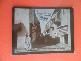 Photo CHROMO  Tabac  Cigarettes  MELIA ALGER Algerie 1900 - BISKRA - Rue Des Ouleds Nails - Melia