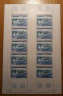 TAAF Feuilles Entières Avec Coin Datés 1983-1984 PA80 - Unused Stamps