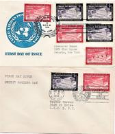 Naciones Unidas Oficina De Nueva York 1954. - Cartas