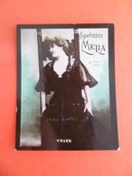 Photo CHROMO EROTIQUE FEMME Tabac  Cigarettes MELIA ALGER Algerie 1900 - YRVEN - Melia
