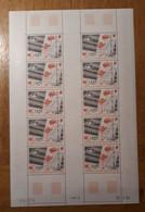 TAAF Feuilles Entières Avec Coin Datés 1985-1986 PA95 - Unused Stamps