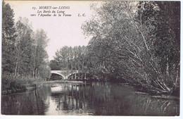 SEINE Et MARNE - MORET-sur-LOING - Les Bords Du Loing Vers L'Aqueduc De La Vanne - Moret Sur Loing