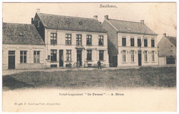 """Santhoven - Hôtel-Logement """"De Zwaan"""" A.Biron  (Geanimeerd) - Zandhoven"""